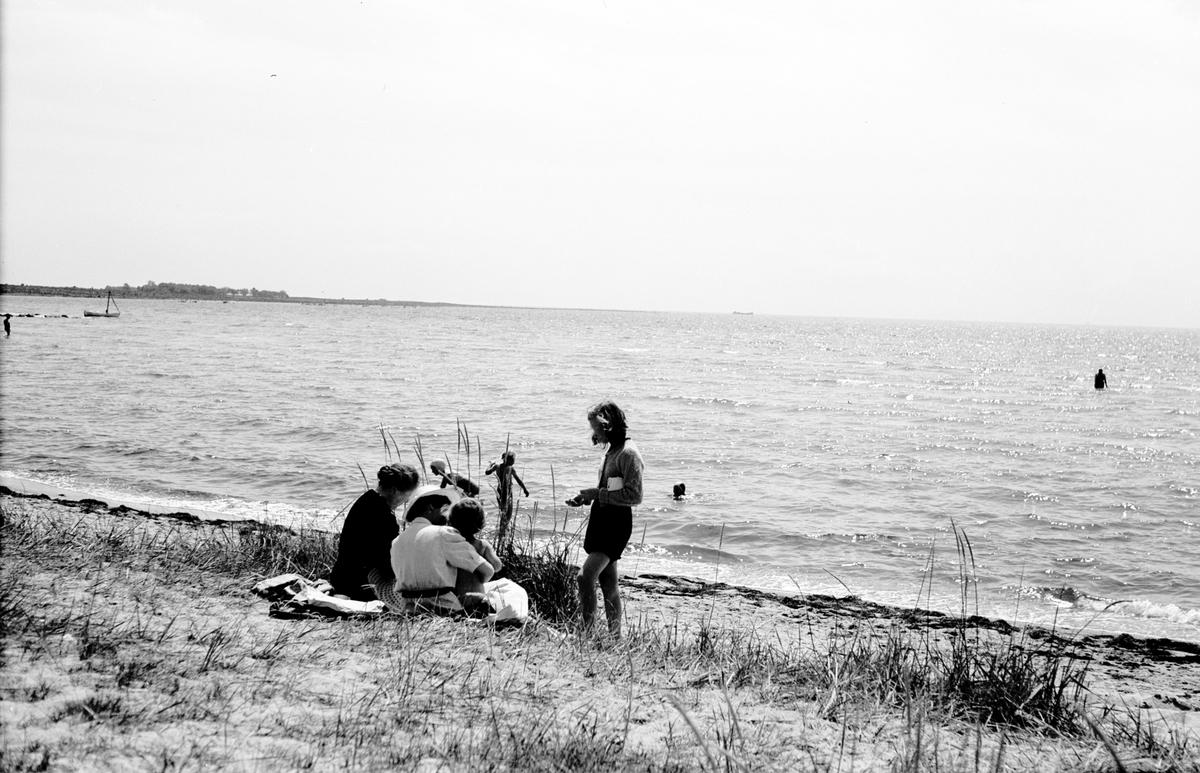 Hälleviks havsbad, i anslutning till Svenska Järnvägsmännens Vilohemsförenings (sedermera Svenska Järnvägsmännens Semesterhemsförening) anläggning.
