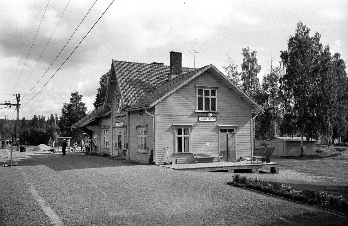 Storsund station. Nordpilen. Centralstation - Narvik