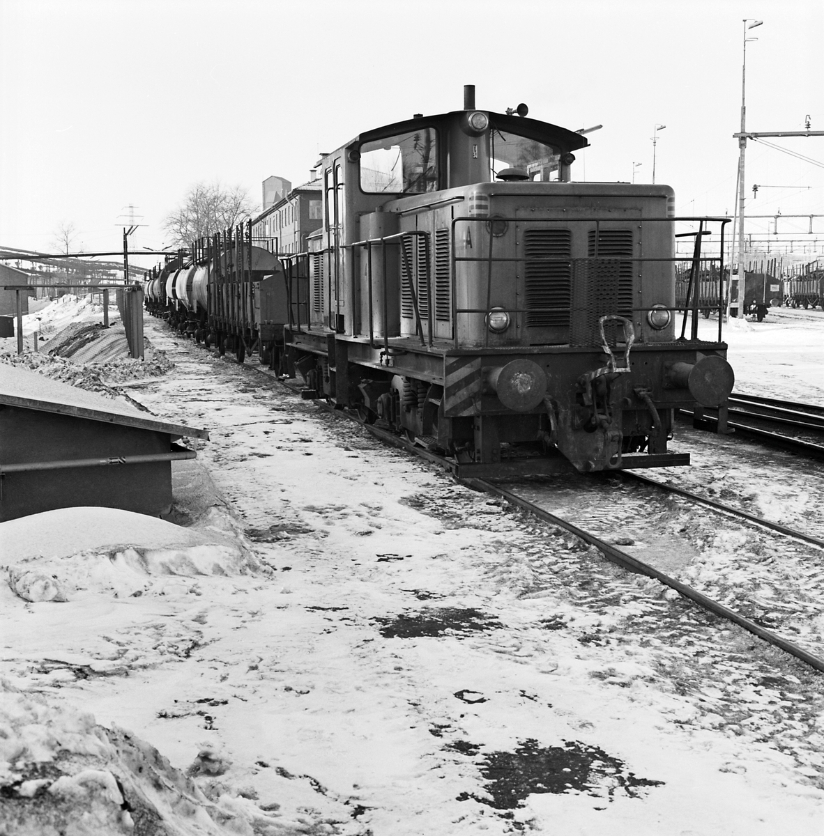Oljetransport, Domnarvet.