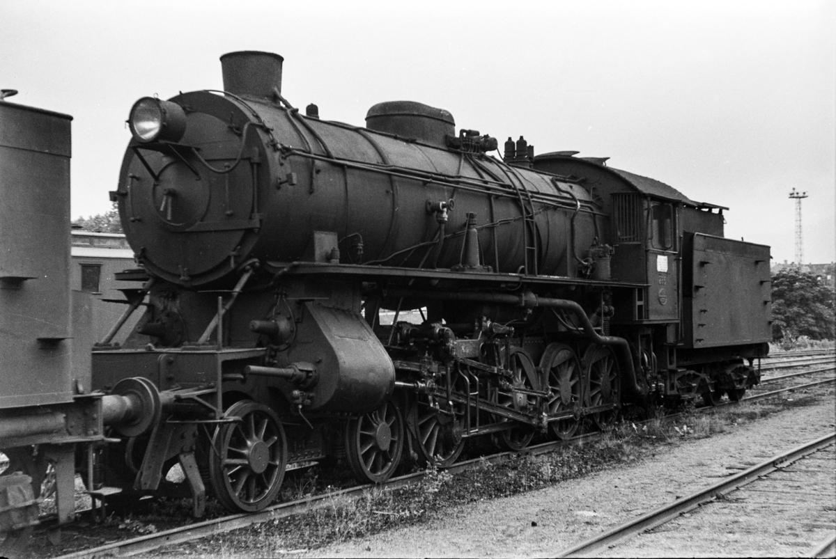 Damplokomotiv type 31a nr. 285 i Lodalen i Oslo.