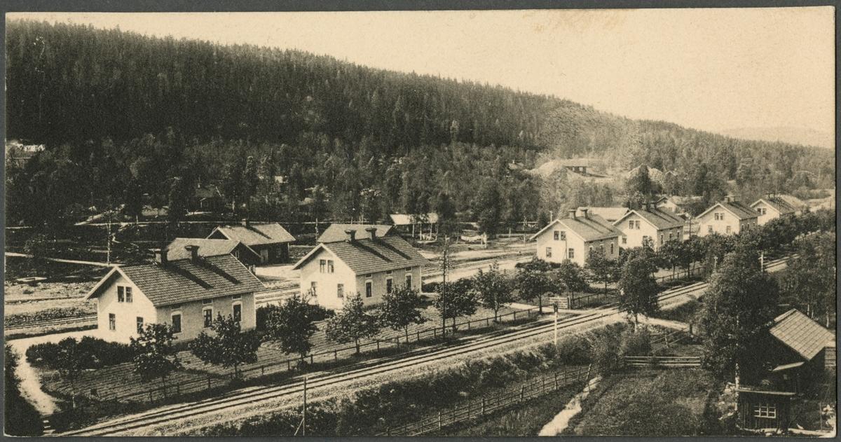 Arbetarbostäder i Grängesberg.