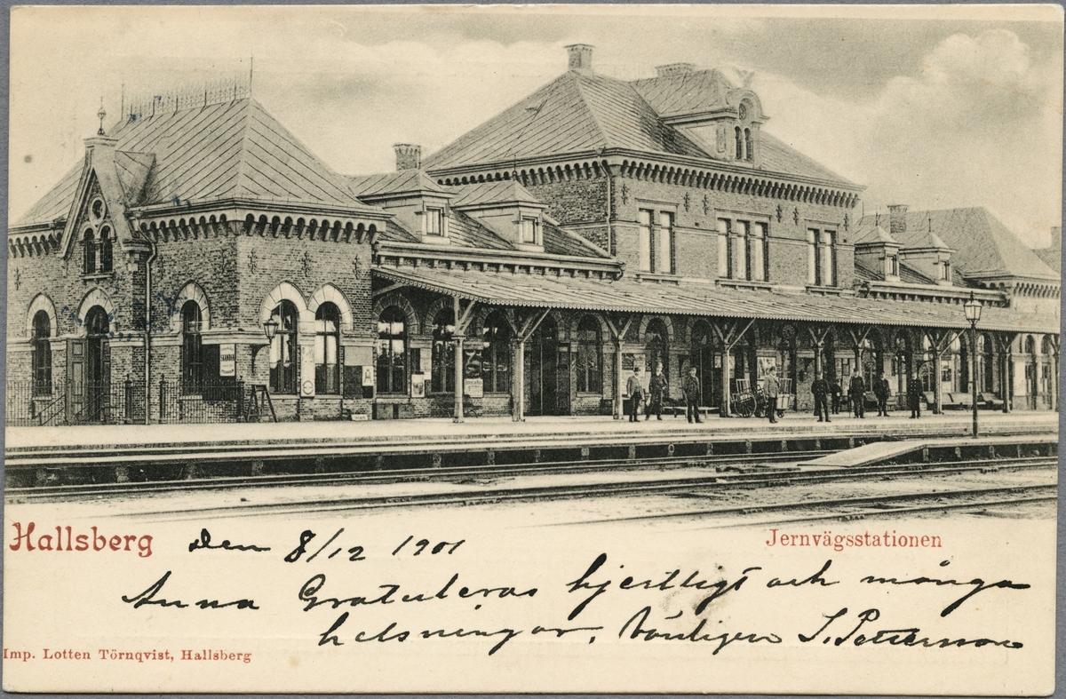 Hallsberg station.