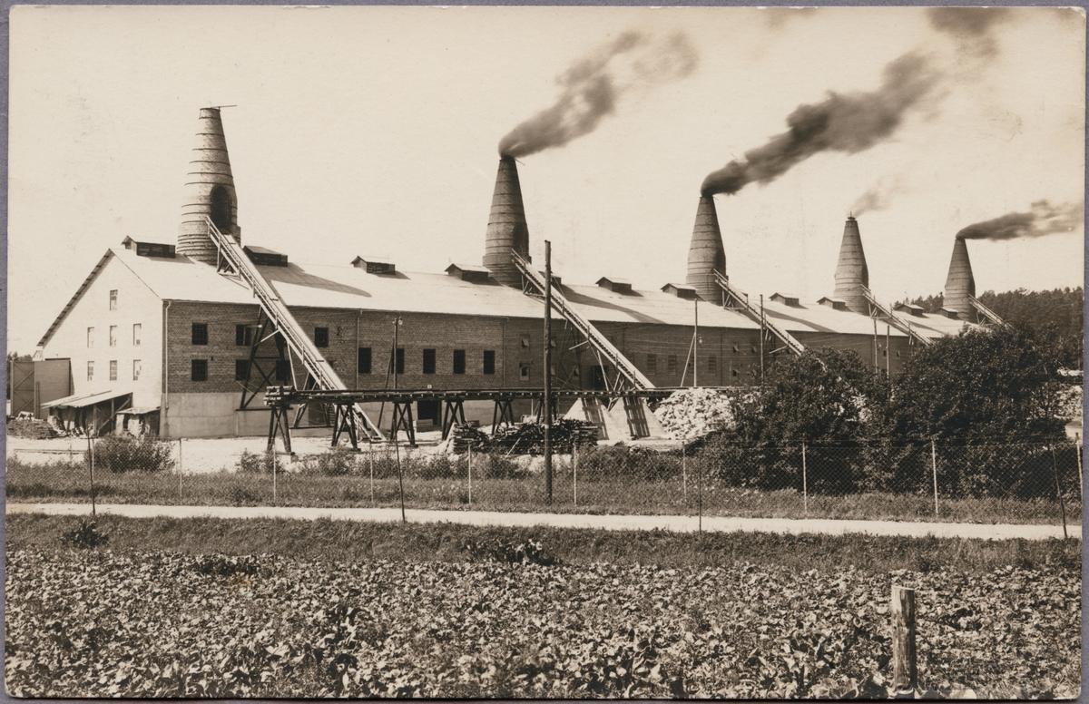 Strå kalkbruk vid Kvinnersta utanför Örebro.