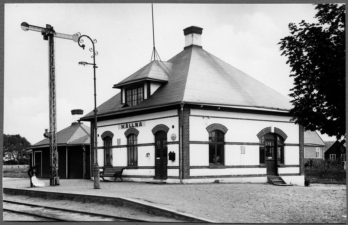 Källna station.