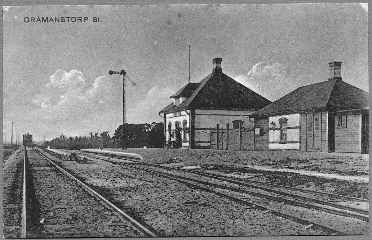 Gråmanstorps station.