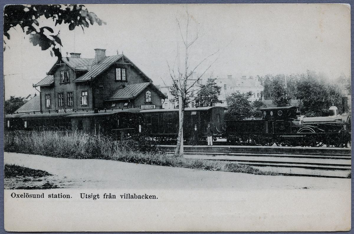 """Köping - Hults Järnväg, KHJ lok 4 """"Dylta""""."""