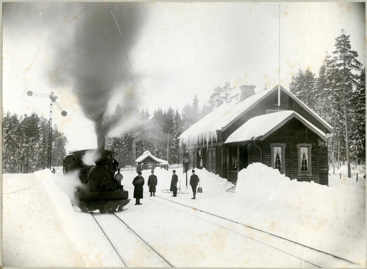 """Norra Östergötlands Järnväg, NÖJ lok 1 """"Finspång"""""""
