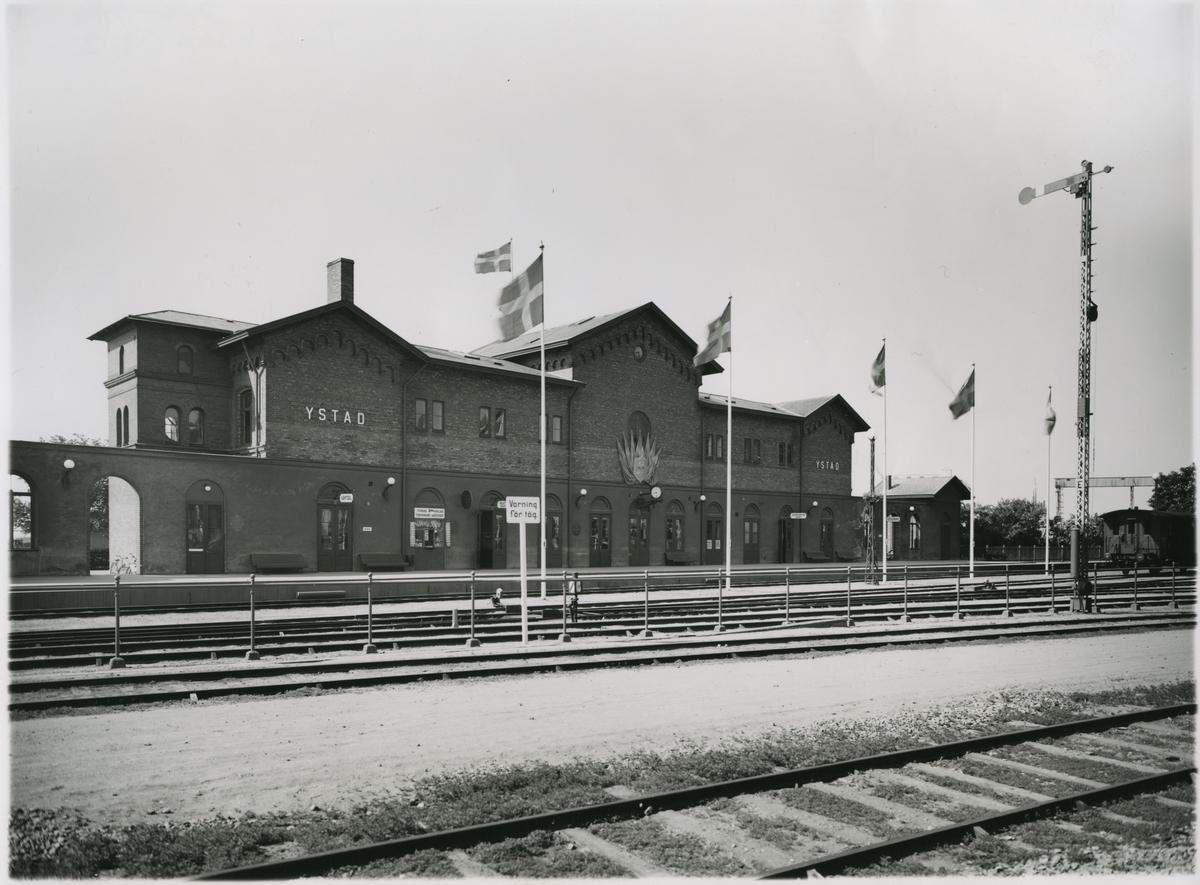 Ystad station.