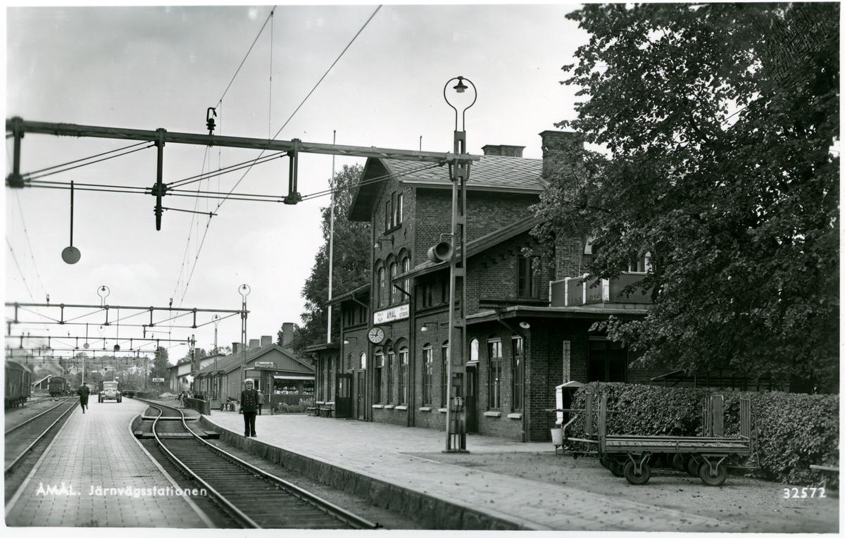 Åmål station.