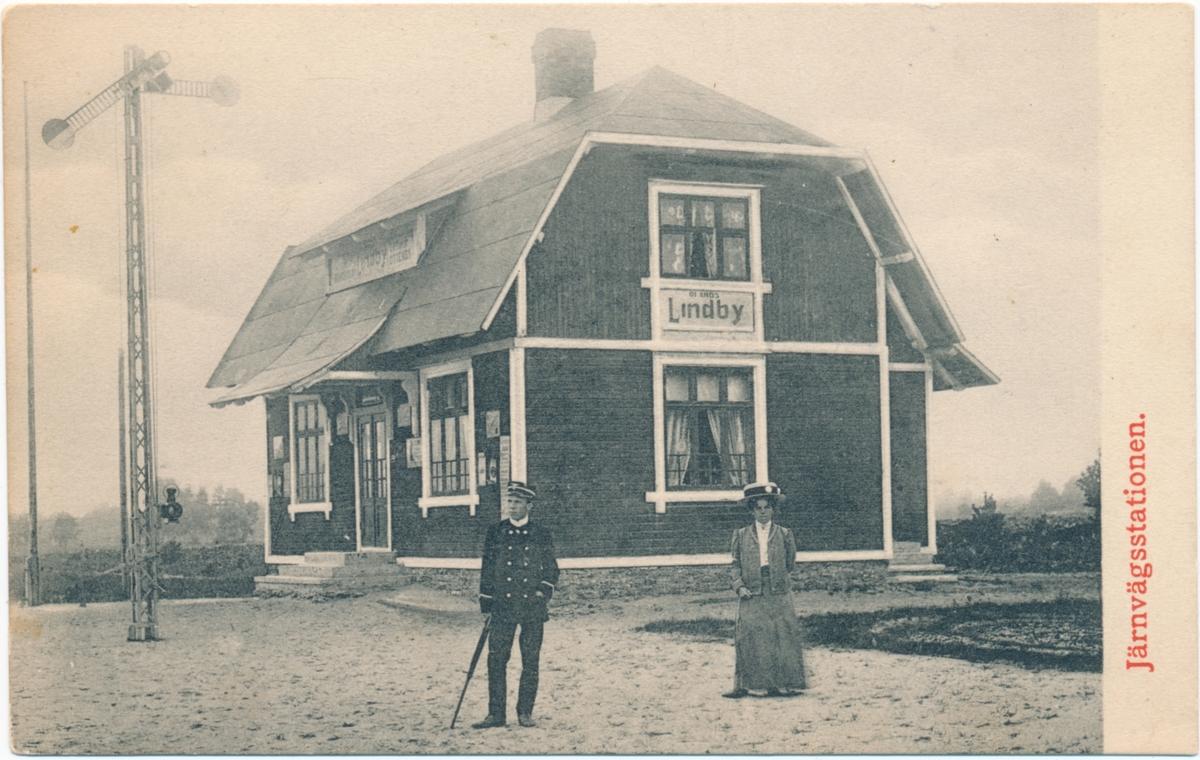 Ölands Lindbys station.
