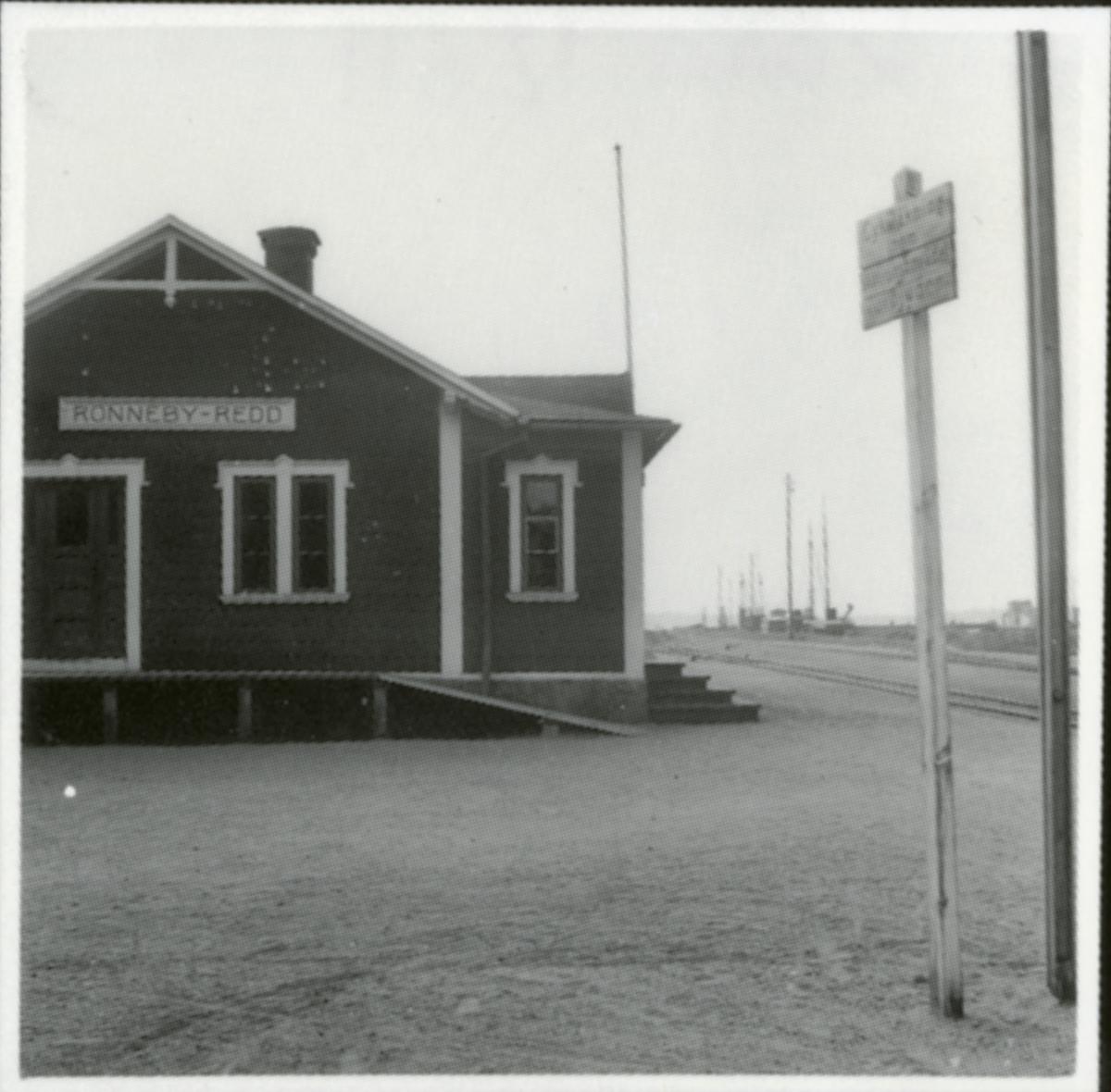 Ronneby-Redd station.