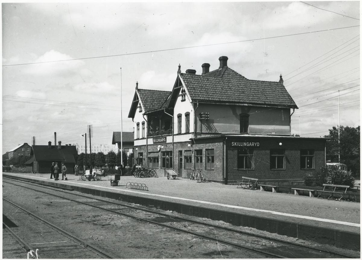 Skillingaryd station.