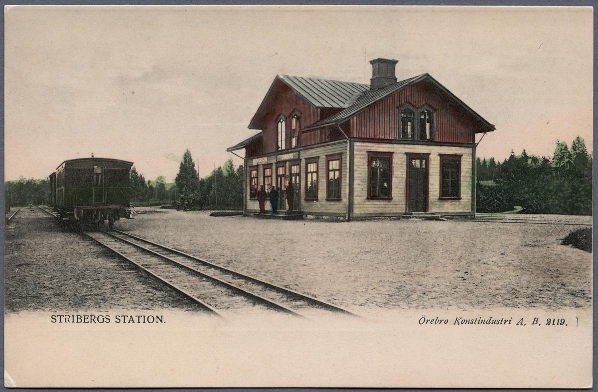 Striberg station.