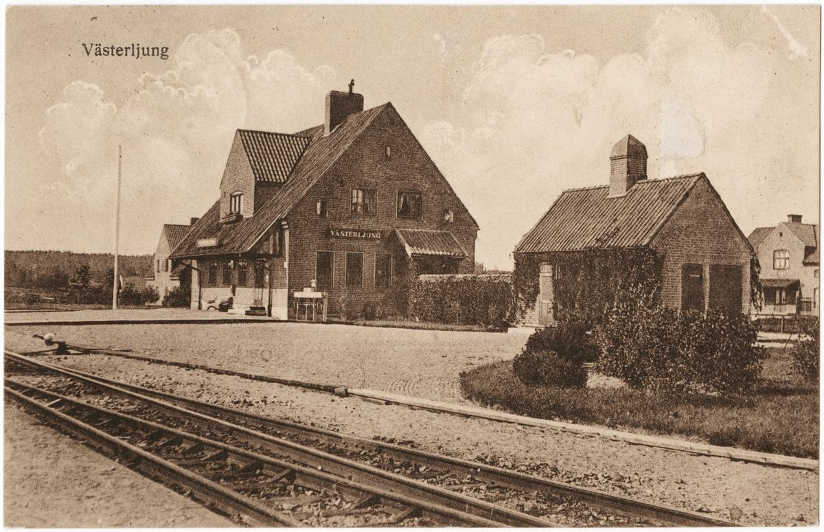 Västerljungs stationshus.