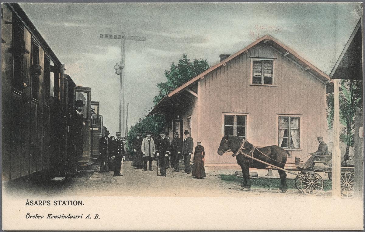 Åsarp station.