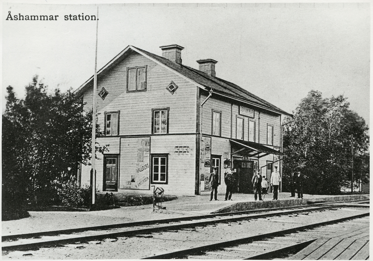 Stationshus.