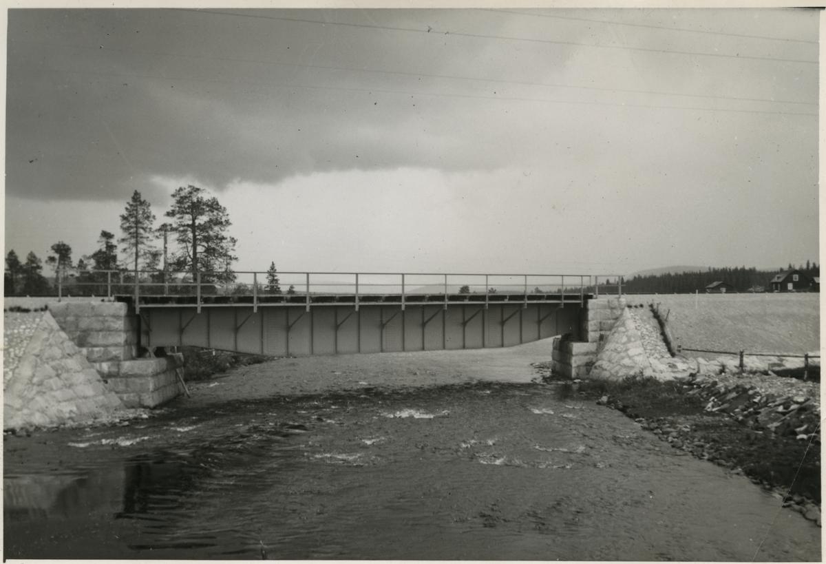 Järnvägsbro över Appojokk. Järnvägen som går genom Jokkmokks område sträcker sig över många vattendrag, bäckar, åar och älvar. Broarna som byggdes över de anpassades till terrängen. De var framförallt funktionella men, deras utseende gick från väldigt enkla, grovhuggna till sublima, estetiskt utformade valvbroar.