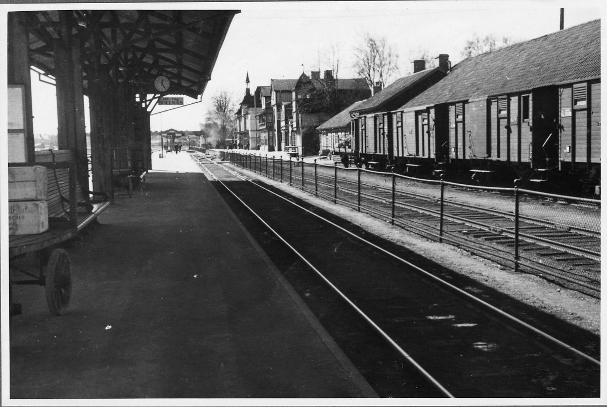 Storviks Järnvägsstation.