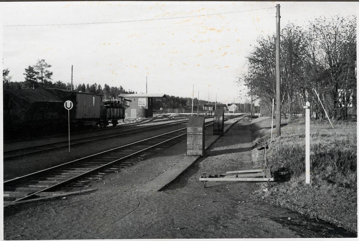 Hörnsjö station.