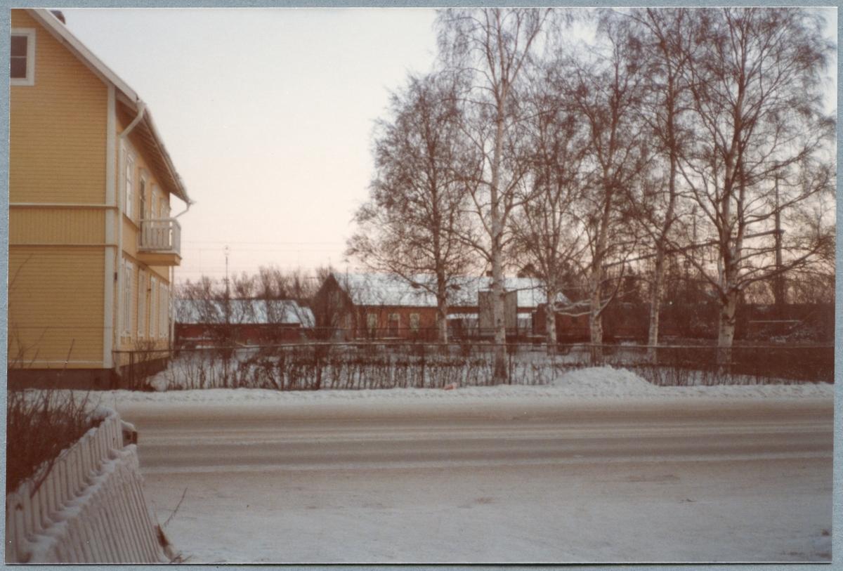 Boden station utanför bild på vänster sida.
