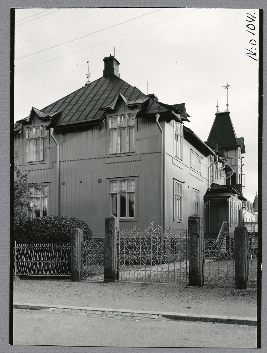 Statens Järnvägar, SJ Hus nr 9 J i Nässjö. Baningenjörsexpeditionen.