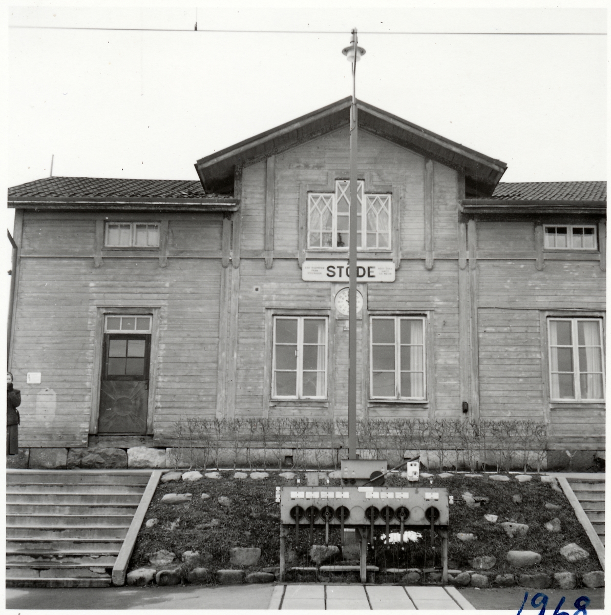 Stationshuset i Stöde.