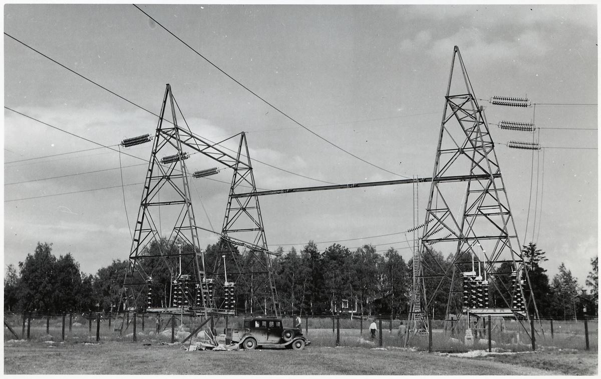 Transformatorstation på okänd ort.