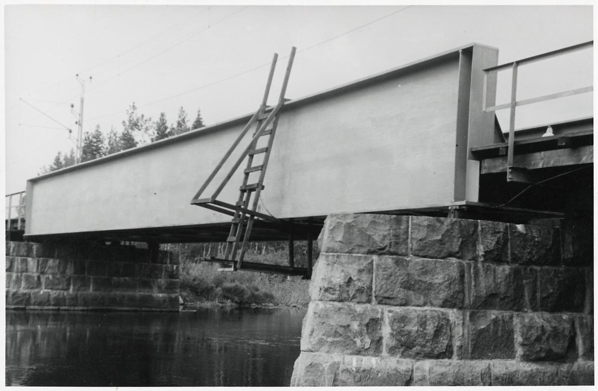 Järnvägsbro vid Brännsågen.