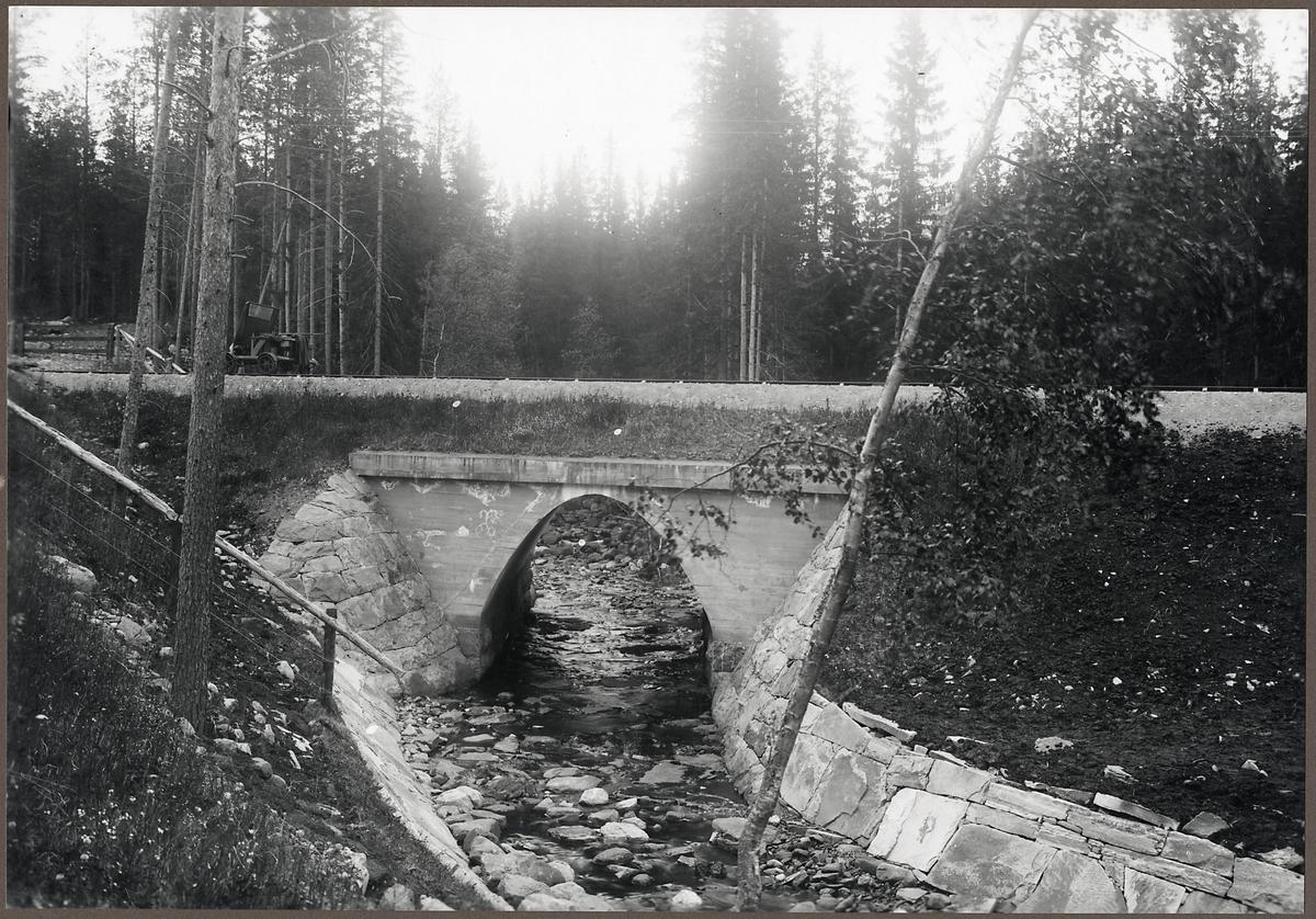 Bro över Resjövallen på linjen mellan Sälen och Horrmund.