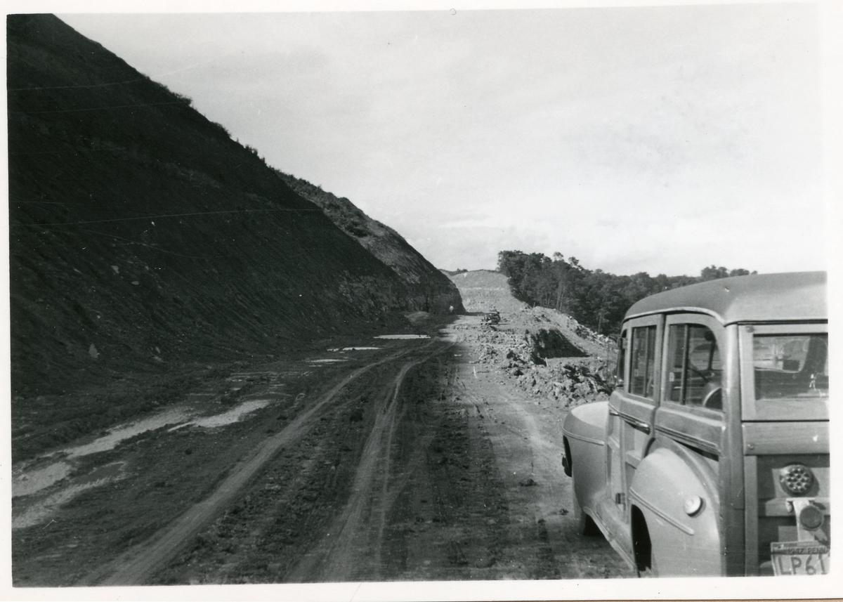 Personbil. Bilder från Bantekniska kontorets studieresa i USA.