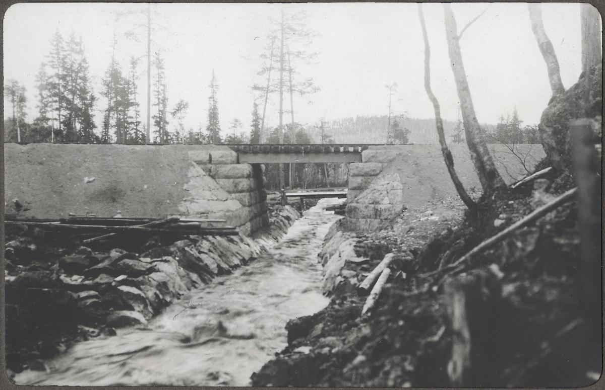 Bro över Maltån, färdig 1924.