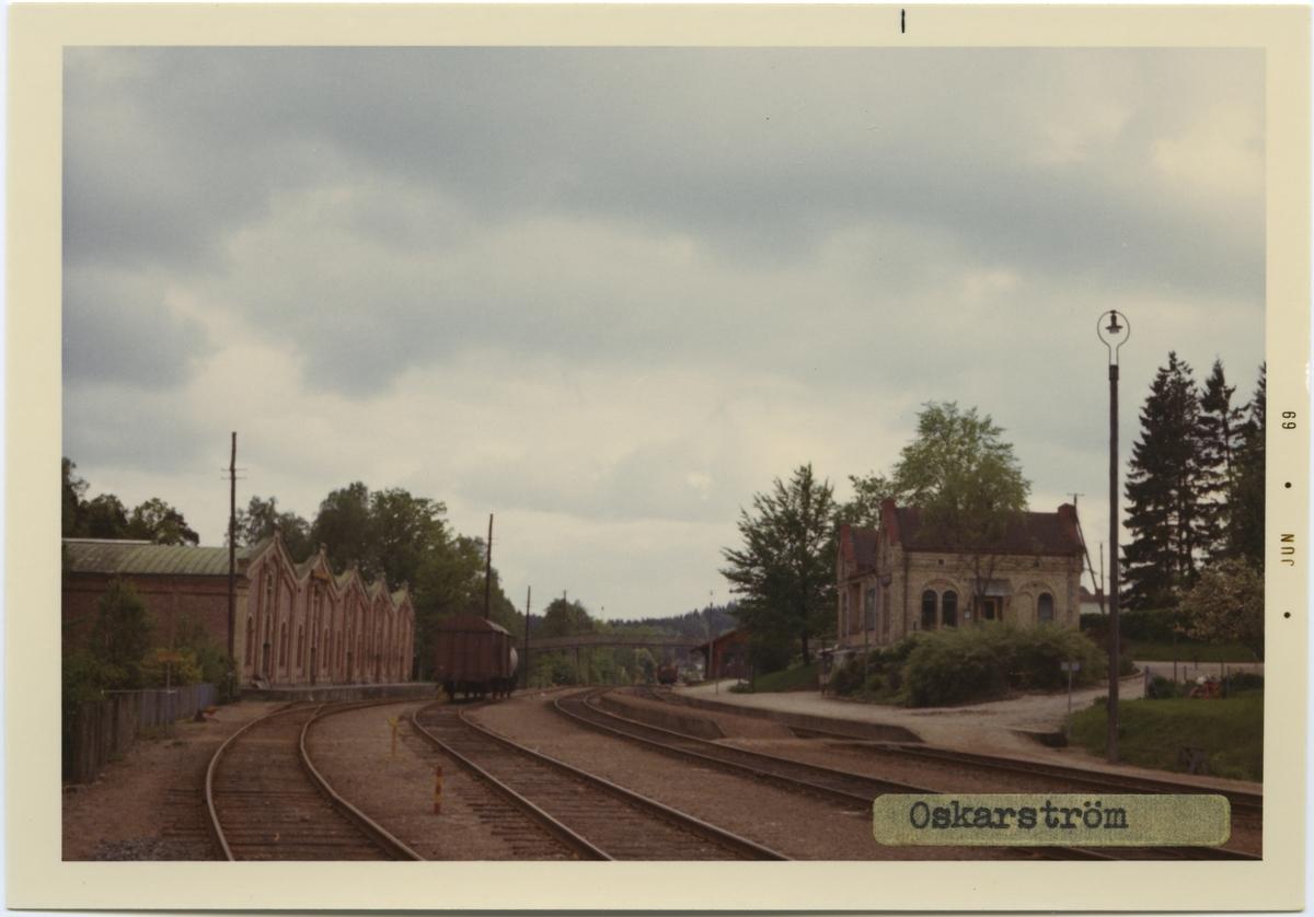 Oskarström station, byggd år 1897