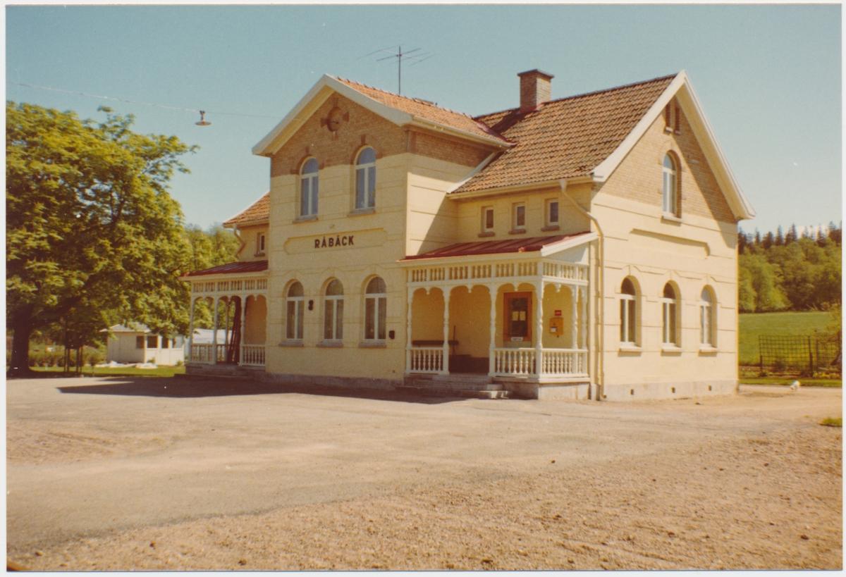 KiLJ , Kinnekulle - Lidköpings Järnväg . Råbäck station