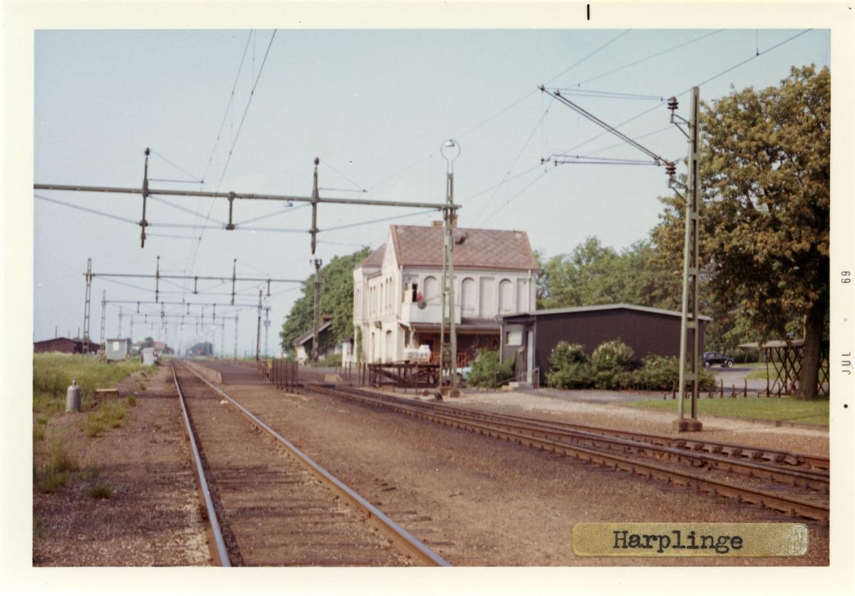 Stationshuset byggdes 1886.