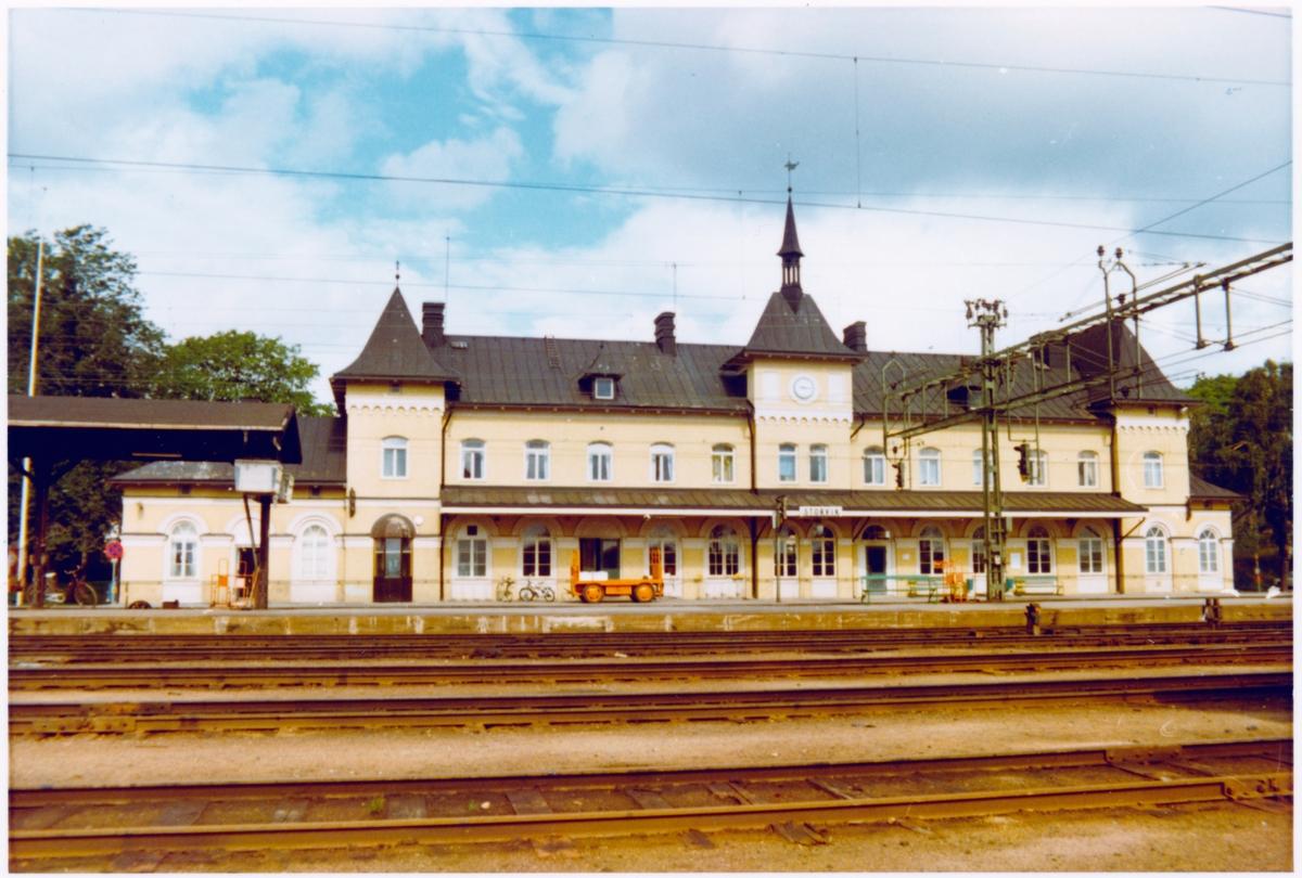 Storvik station omkring år 1972.