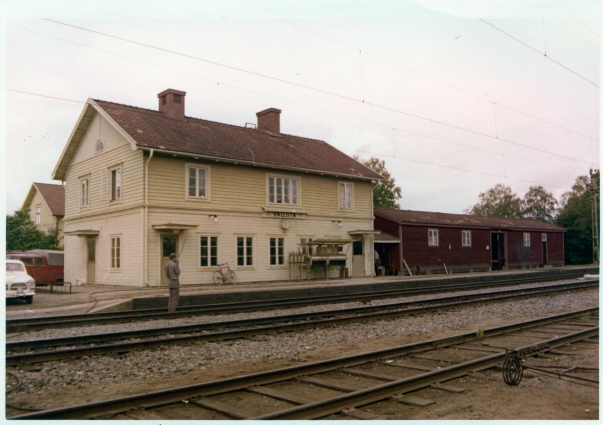 Vallsta station.