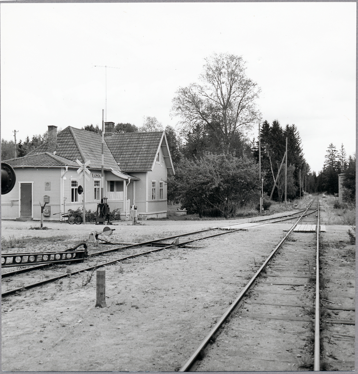 Björkedal station.