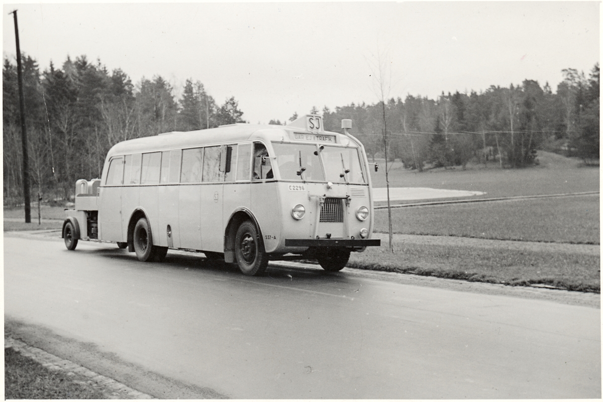 Statens Järnvägar, SJ Buss 537-A.