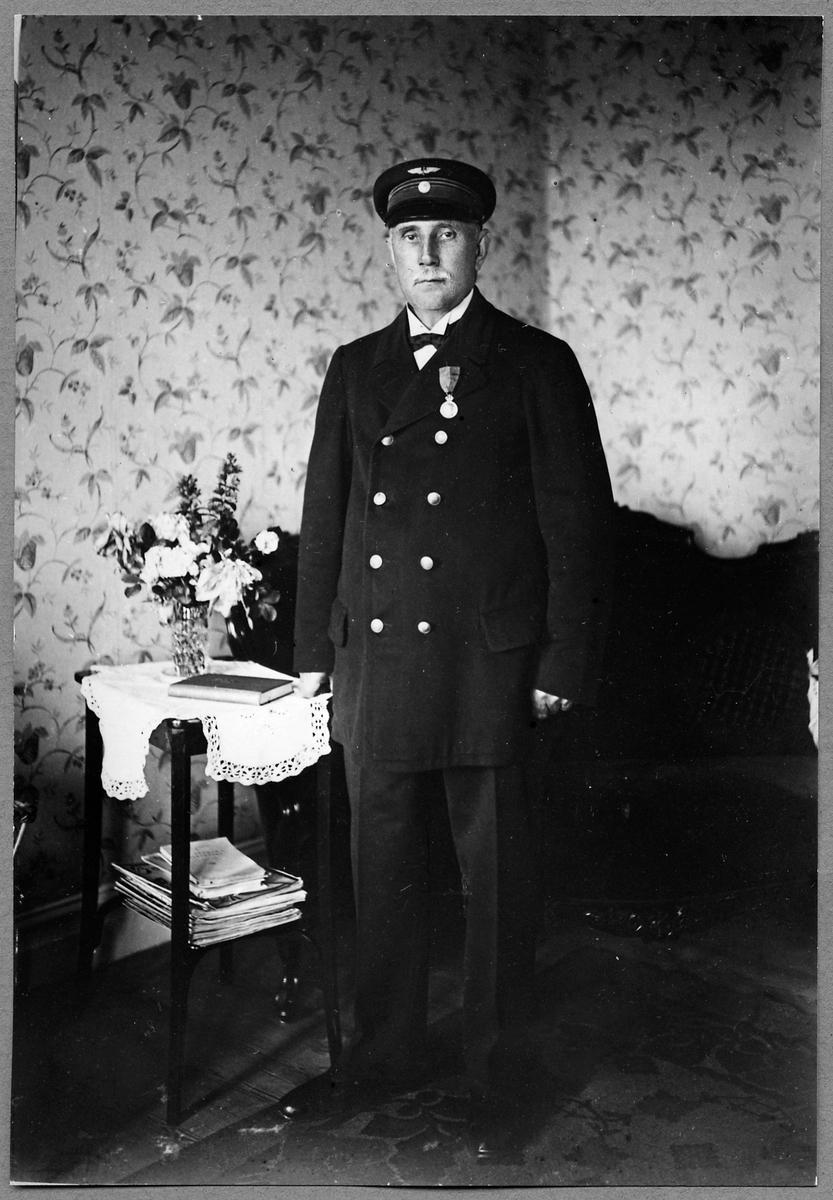 Stationsföreståndare Karl Wilhelm Liljekvist.