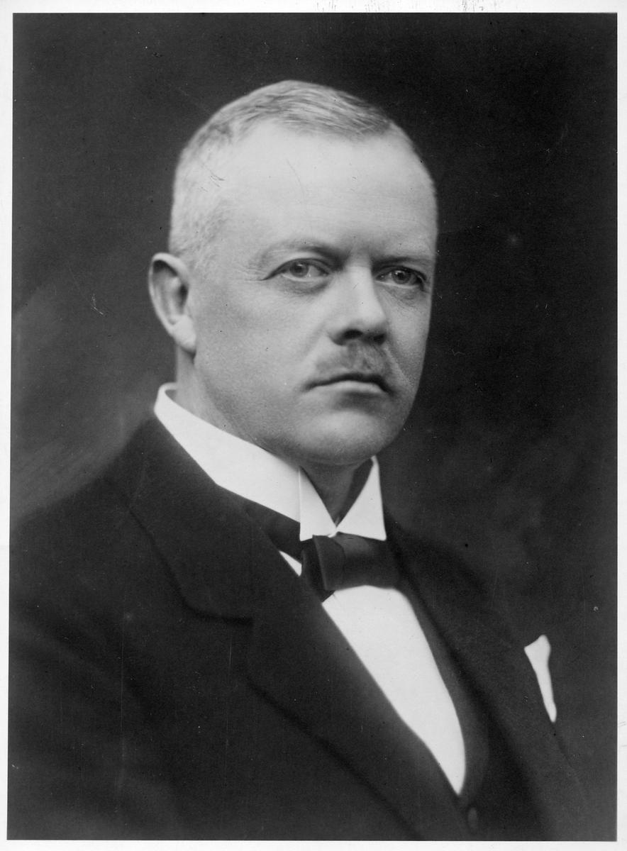 Byråchef C A Nordberg.