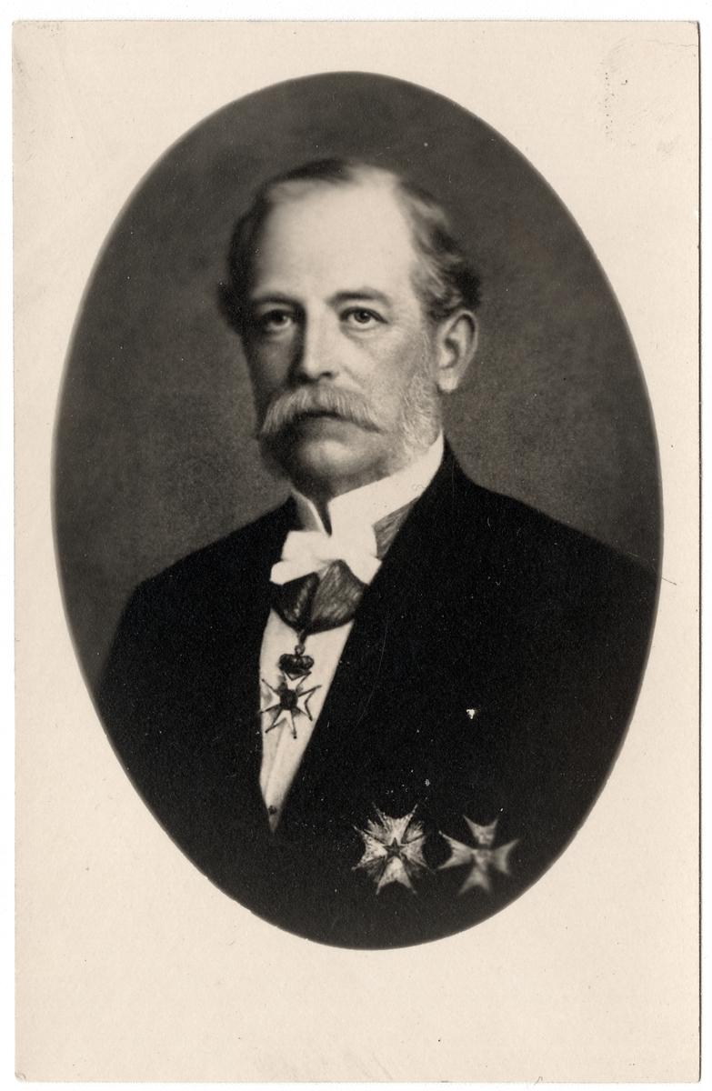 Godsägare och Överstekammarherre Gustaf Axel Fredrik Wachtmeister.