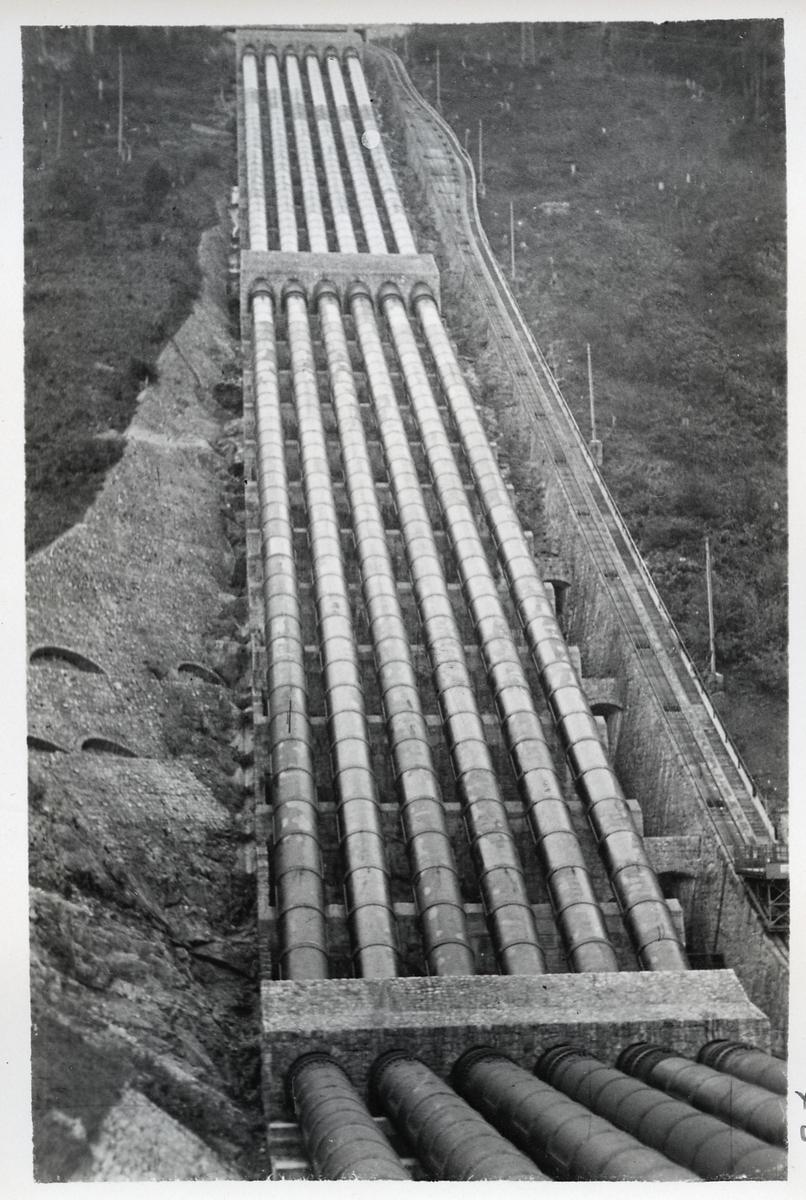 Walchensee vattenkraftverk.
