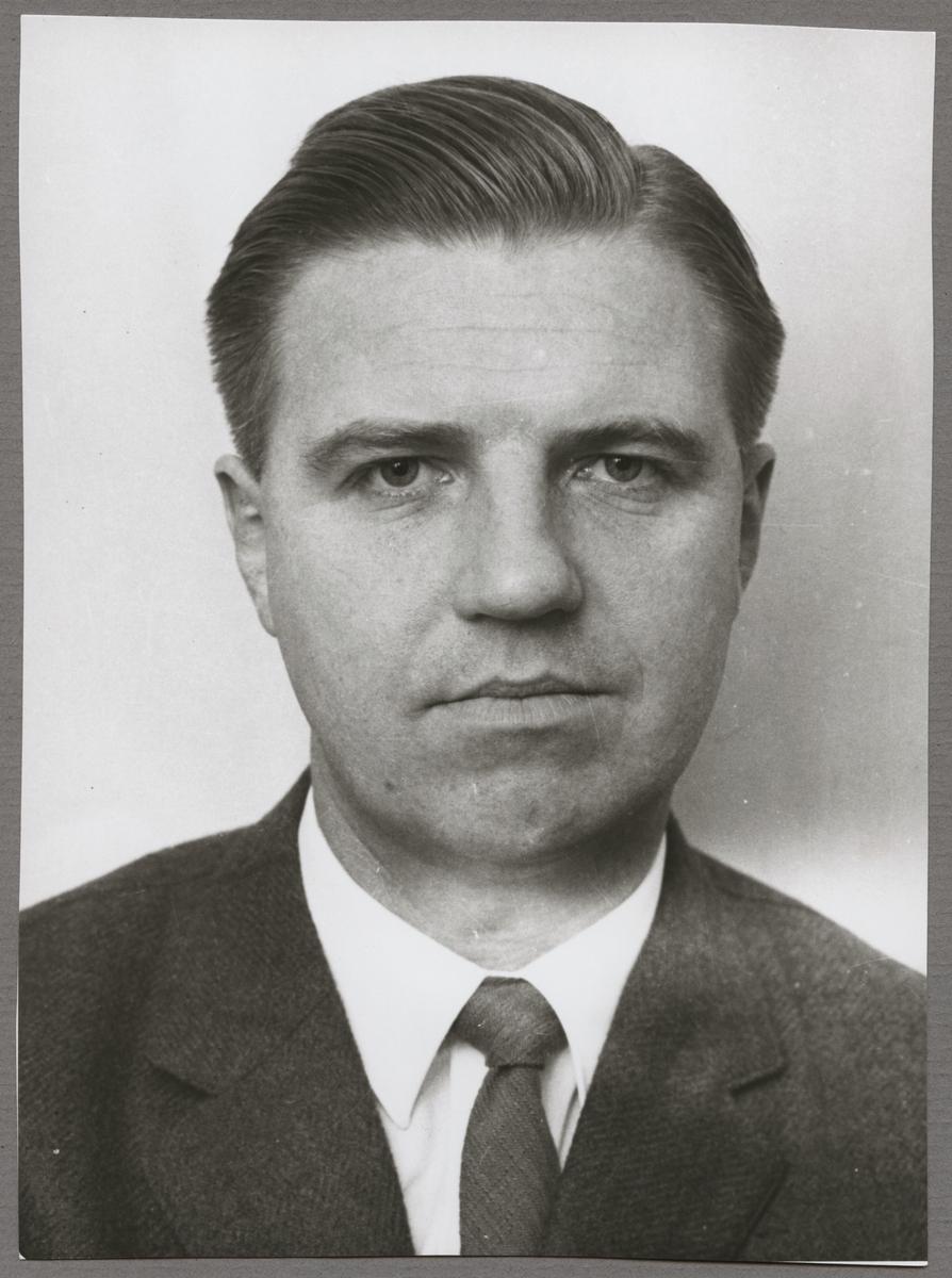 Jörgen Stenberg, anställd vid Trafikaktiebolaget Grängesberg - Oxelösunds Järnvägar, TGOJ.
