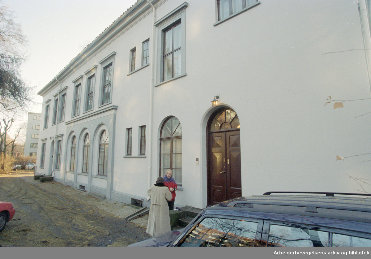 Fagerheimgata 16. Løkka Thorseng. 5. desember 1996
