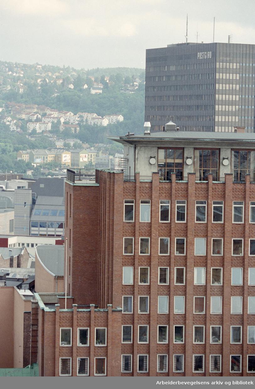 Folketeaterbygningen. 1. juni 1993