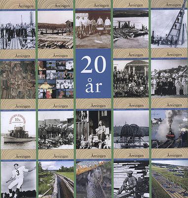 """Collage av forsidene fra tidsskriftet """"Årringen"""" 1999 - 2018."""