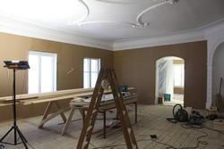 Rommet på Torderød gård var tidligere delt i tre, nå har værelset fått tilbake sitt sapreg (Foto/Photo)