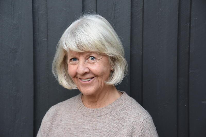 Anne Sagberg, forfatter av boka «Isegran – en perle i Fredrikstad».