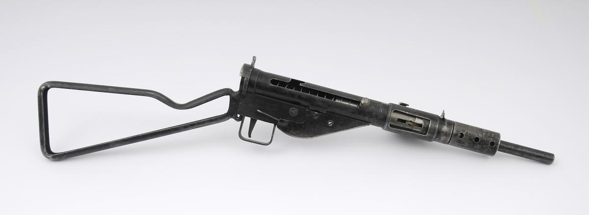 Ukomplett Sten gun. Magasinet mangler.