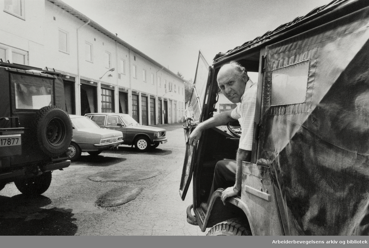 Furuset. Hærens forsyningskommando. Juli 1985